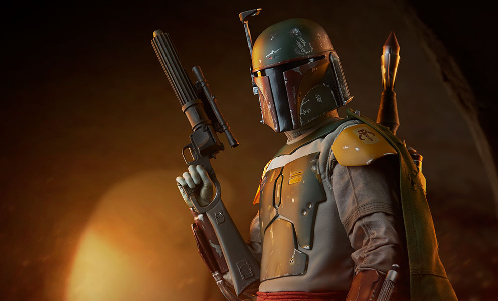 Gallery Feature Image of Boba Fett Premium Format™ Figure - Click to open image gallery