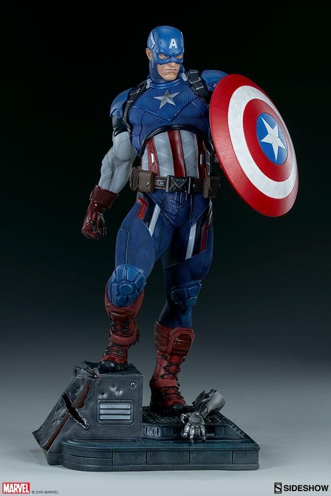 Marvel Captain America Premium Format(TM) Figure by Sideshow ... 1ff5cd351a08