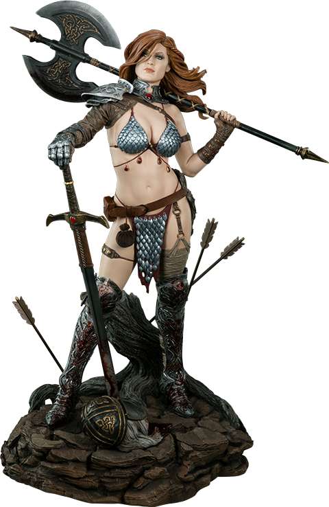 Sideshow Collectibles Red Sonja Premium Format Figure
