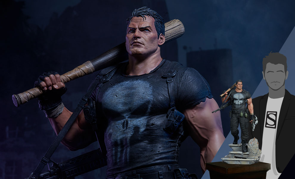 Gallery Feature Image of The Punisher Premium Format™ Figure - Click to open image gallery