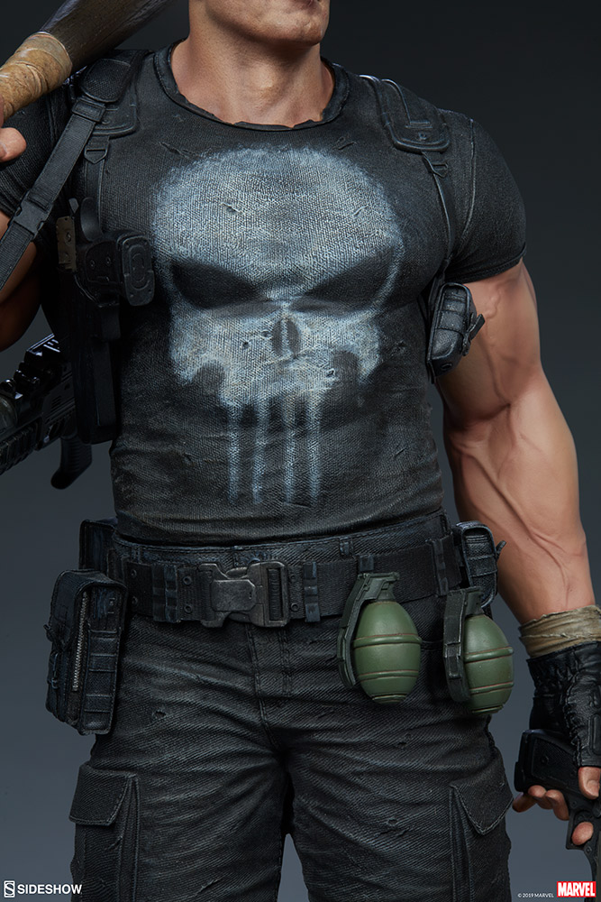 Marvel The Punisher Premium Format Figure By Sideshow Collectibles Sideshow Collectibles