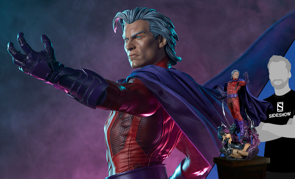 Gallery Feature Image of Magneto Maquette - Click to open image gallery