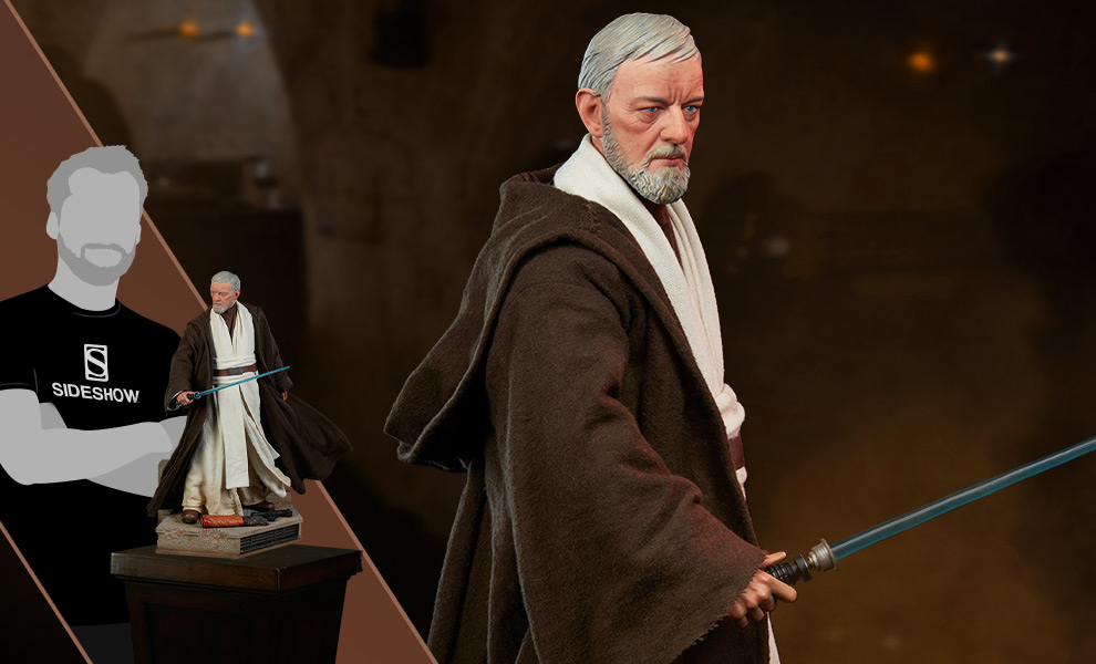 Gallery Feature Image of Obi Wan Kenobi Premium Format™ Figure - Click to open image gallery
