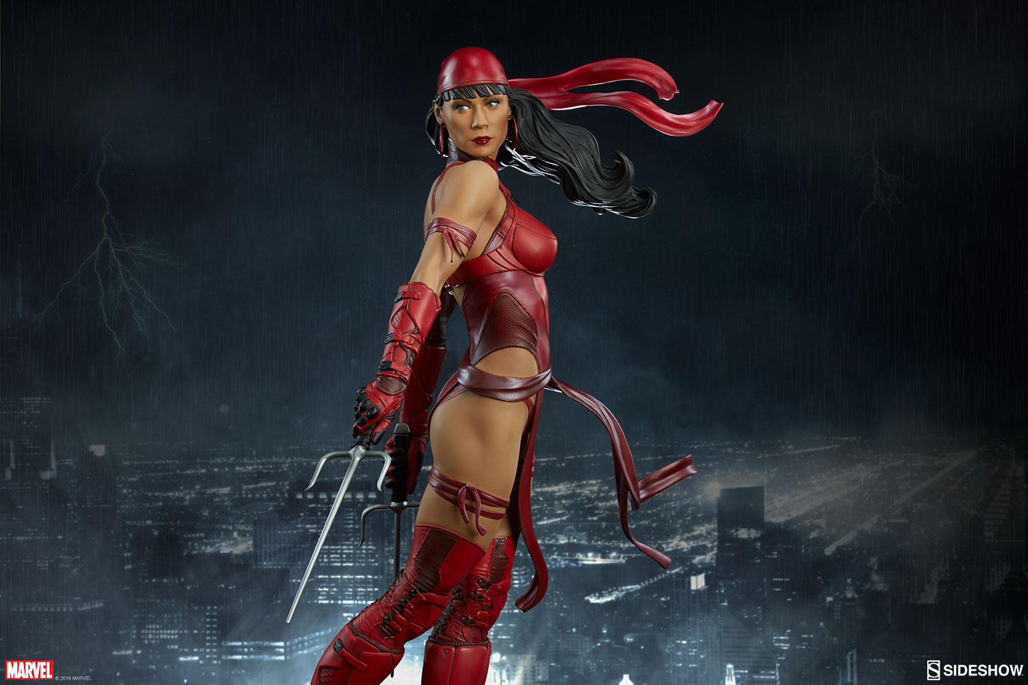 Marvel Elektra Premium Format(TM) Figure by Sideshow Collect ...