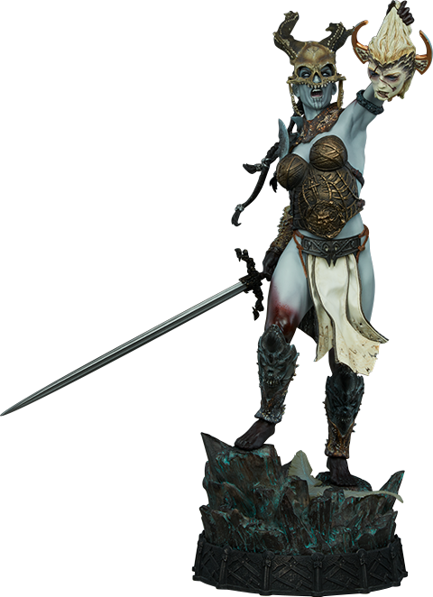 Sideshow Collectibles Kier Deaths Warbringer Premium Format Figure