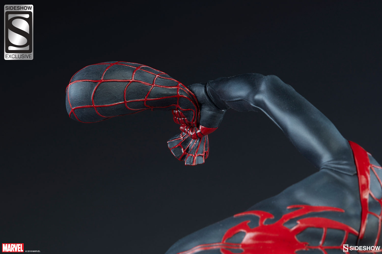 Marvel Spider Man Miles Morales Premium Format Tm Figure By Sideshow