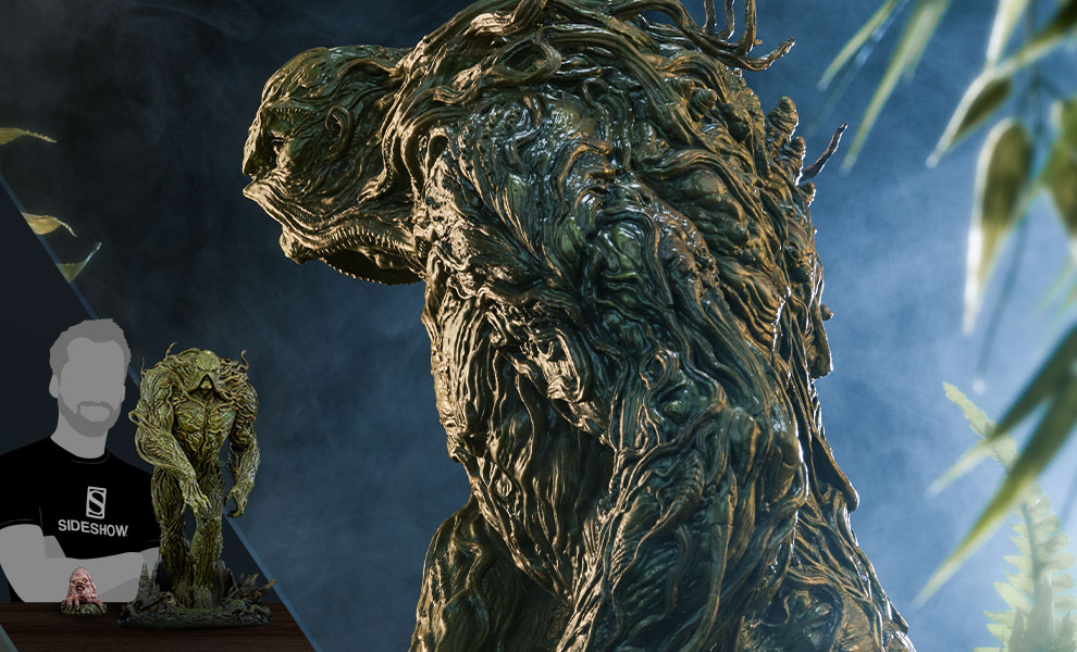 Gallery Feature Image of Swamp Thing Maquette - Click to open image gallery