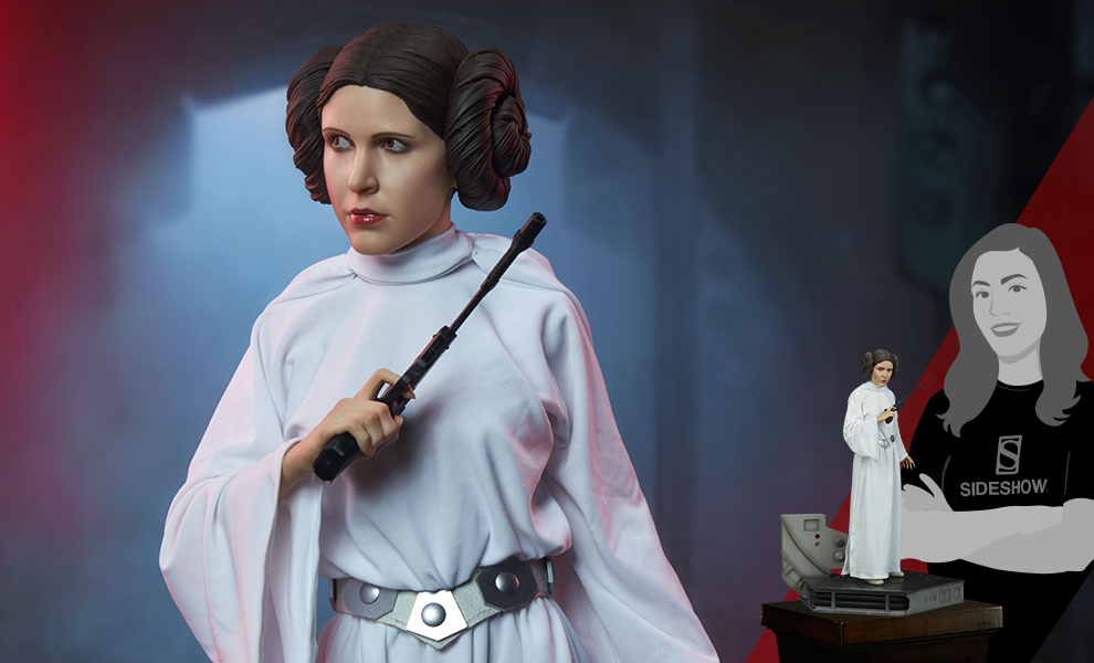 Gallery Feature Image of Princess Leia Premium Format™ Figure - Click to open image gallery