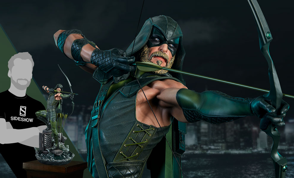 Gallery Feature Image of Green Arrow Premium Format™ Figure - Click to open image gallery