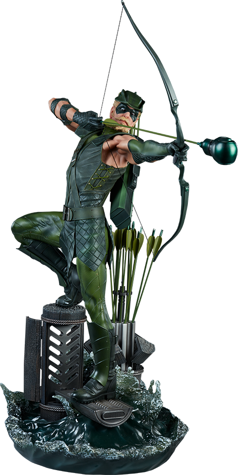 Sideshow Collectibles Green Arrow Premium Format Figure