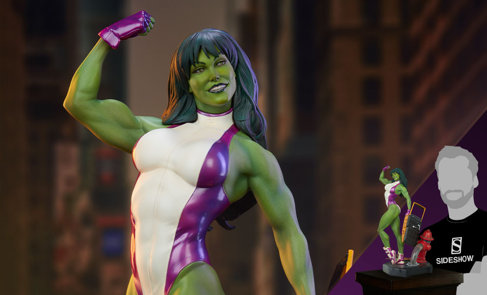 Gallery Feature Image of She-Hulk Statue - Click to open image gallery