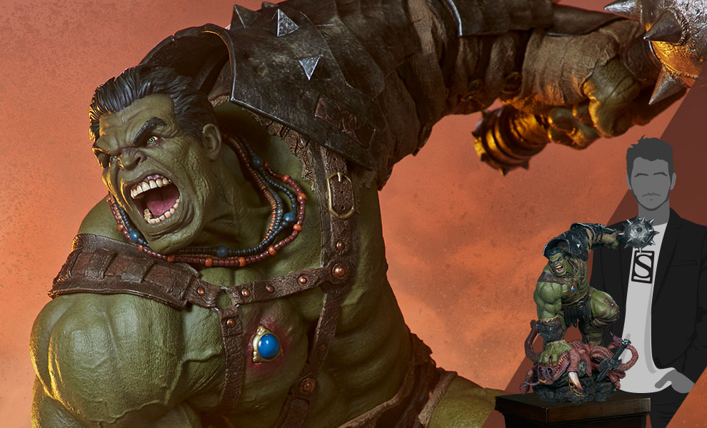 Gallery Feature Image of Gladiator Hulk Maquette - Click to open image gallery
