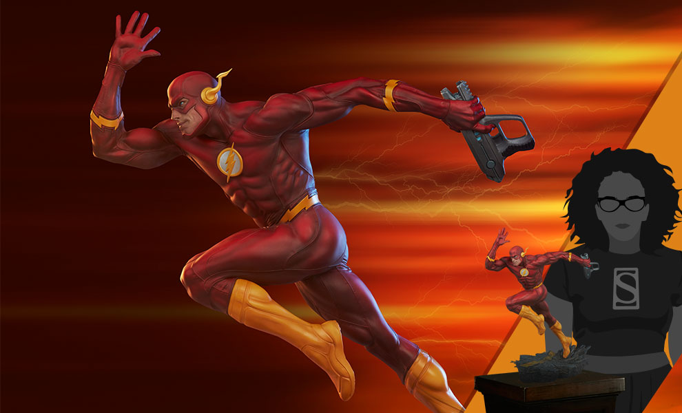 Gallery Feature Image of The Flash Premium Format™ Figure - Click to open image gallery