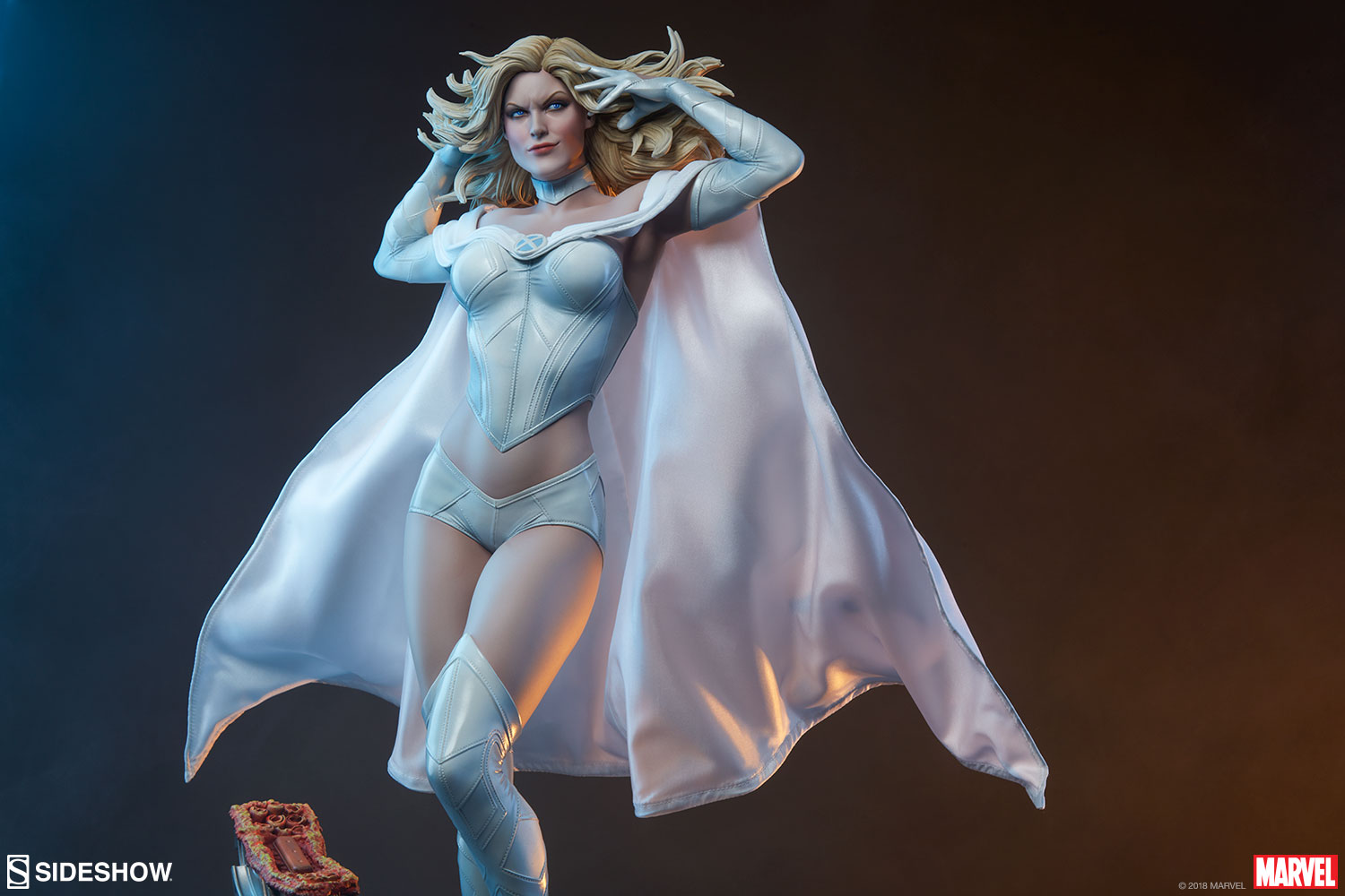Marvel Emma Frost Premium Format Tm Figure By Sideshow Coll Sideshow