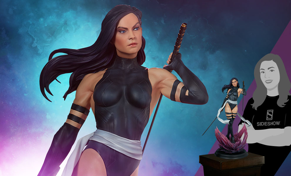Gallery Feature Image of Psylocke: X-Force Variant Premium Format™ Figure - Click to open image gallery