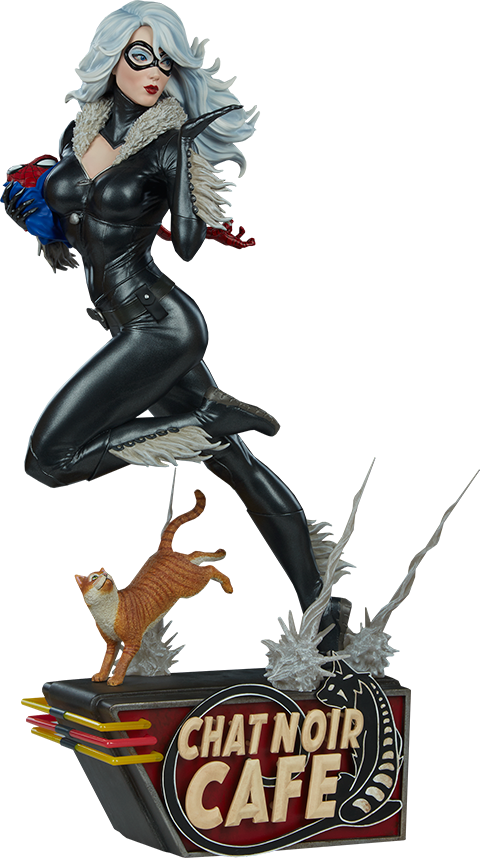 Sideshow Collectibles Black Cat Statue
