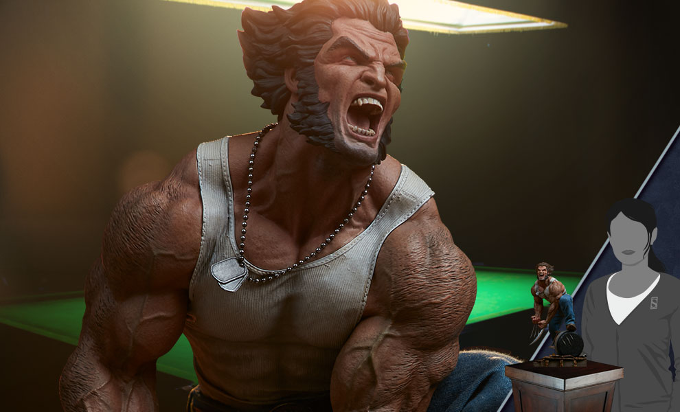 Gallery Feature Image of Logan Premium Format™ Figure - Click to open image gallery