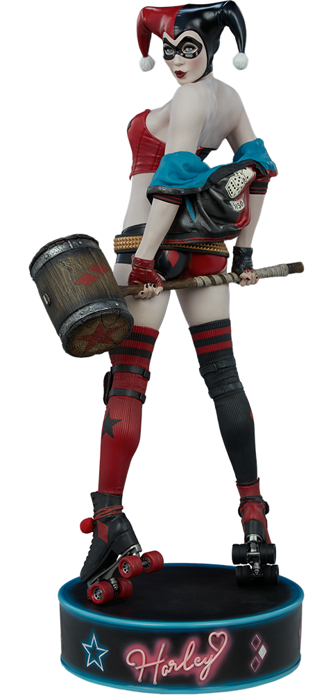 Sideshow Collectibles Harley Quinn: Hell on Wheels Premium Format™ Figure