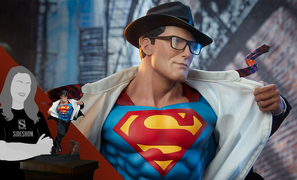 Gallery Feature Image of Superman™: Call to Action Premium Format™ Figure - Click to open image gallery