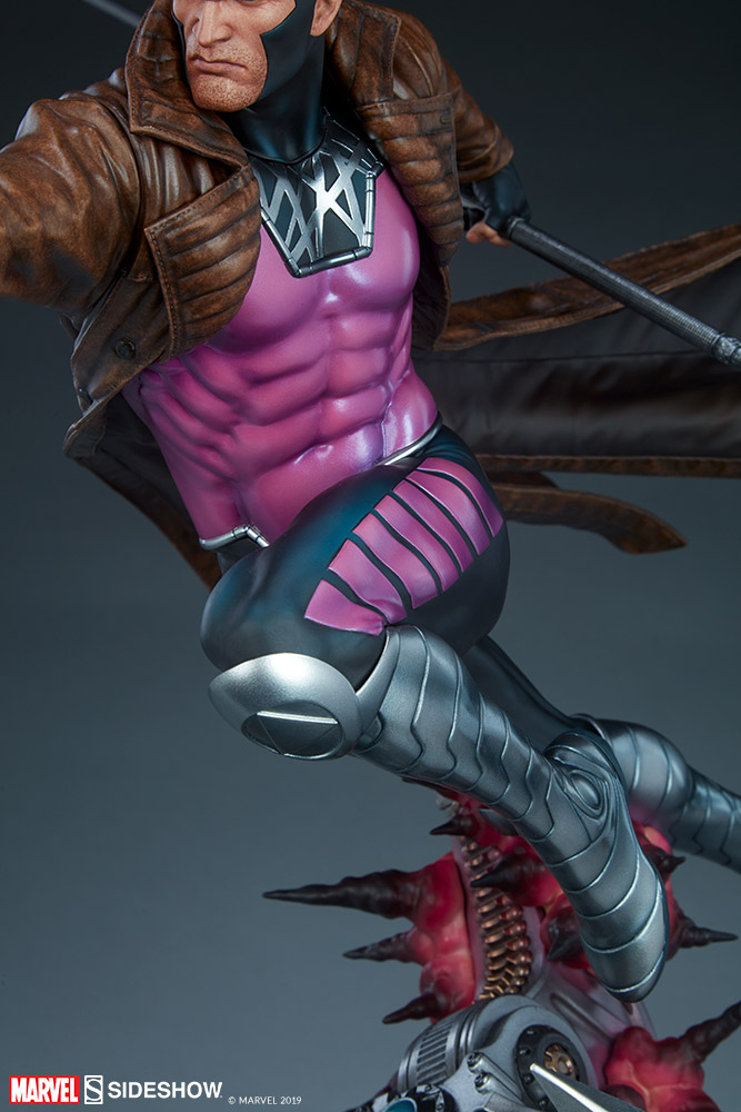 Marvel Gambit Maquette by Sideshow Collectibles