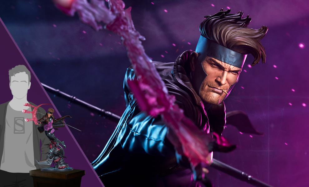 Gallery Feature Image of Gambit Maquette - Click to open image gallery