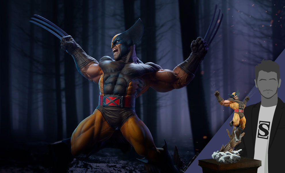 Gallery Feature Image of Wolverine Premium Format™ Figure - Click to open image gallery