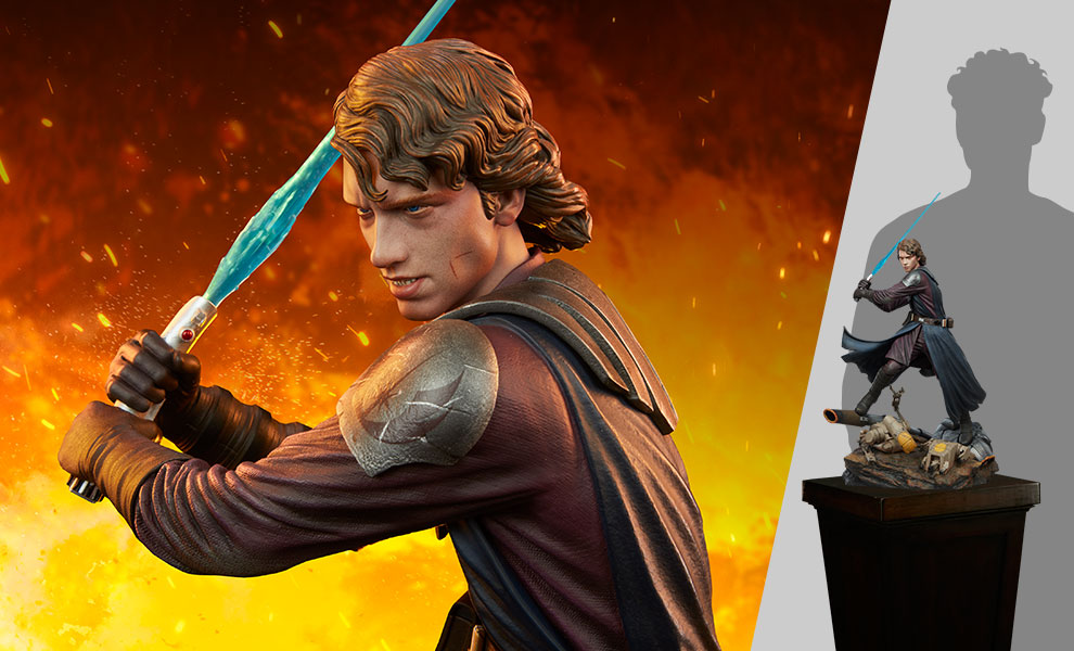 Gallery Feature Image of Anakin Skywalker™ Mythos Statue - Click to open image gallery