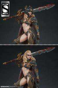 Gallery Image of Dragon Slayer: Warrior Forged in Flame Statue
