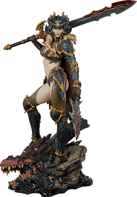 Sideshow Collectibles Dragon Slayer: Warrior Forged in Flame Statue