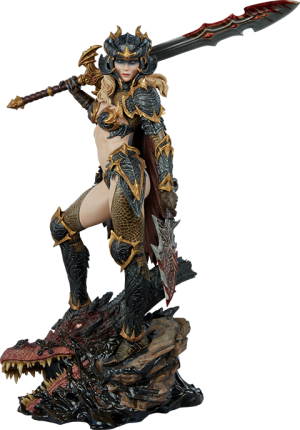 Dragon Slayer: Warrior Forged in Flame Statue