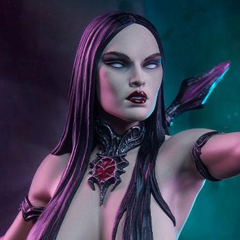 Dark Sorceress: Guardian of the Void Statue