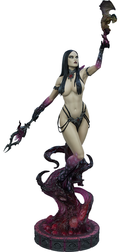 Sideshow Collectibles Dark Sorceress: Guardian of the Void Statue