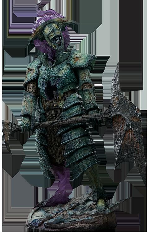 Sideshow Collectibles Oathbreaker Strÿfe: Fallen Mortis Knight Premium Format™ Figure