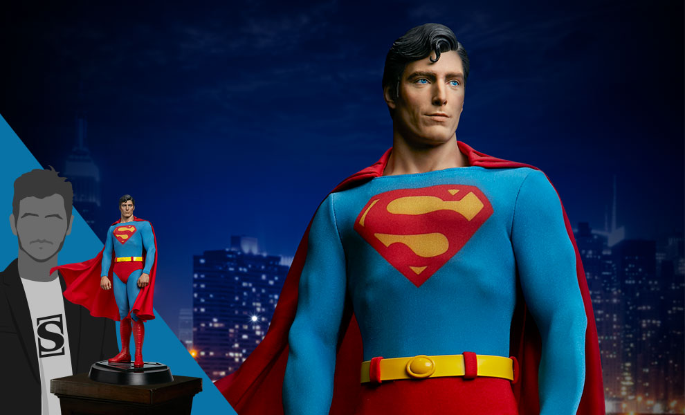 Gallery Feature Image of Superman: The Movie Premium Format™ Figure - Click to open image gallery