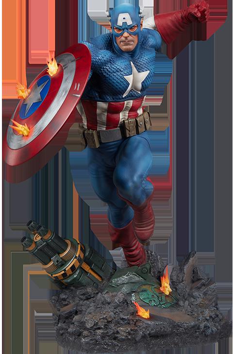 Sideshow Collectibles Captain America Premium Format™ Figure