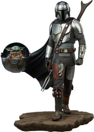 The Mandalorian™ and Grogu™ Premium Format™ Figure