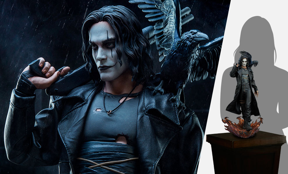 Gallery Feature Image of The Crow Premium Format™ Figure - Click to open image gallery