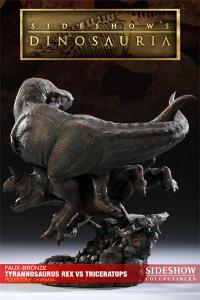 Gallery Image of Tyrannosaurus Rex VS Triceratops Diorama Polystone Diorama