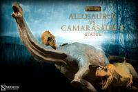 Gallery Image of Allosaurus vs Camarasaurus Statue