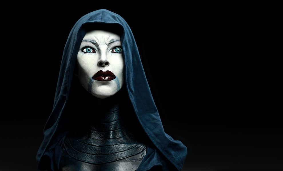 Gallery Feature Image of Asajj Ventress Life-Size Bust - Click to open image gallery