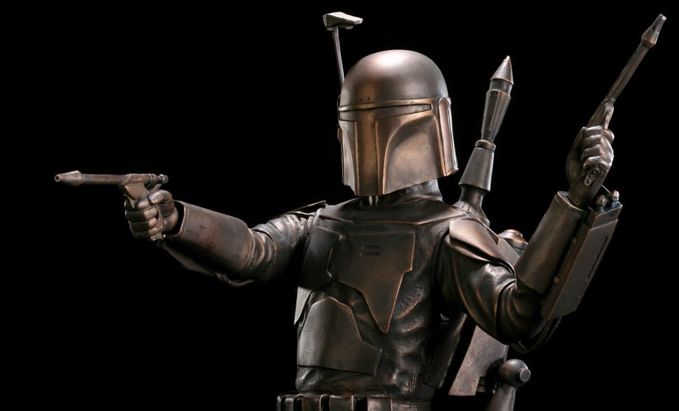 Gallery Feature Image of Jango Fett Bronze Statue - Click to open image gallery