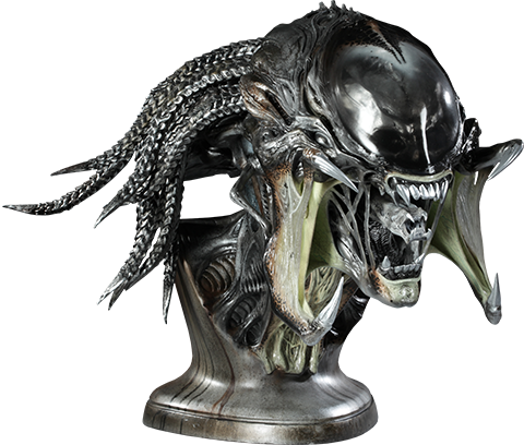 Sideshow Collectibles PredAlien Life-Size Bust