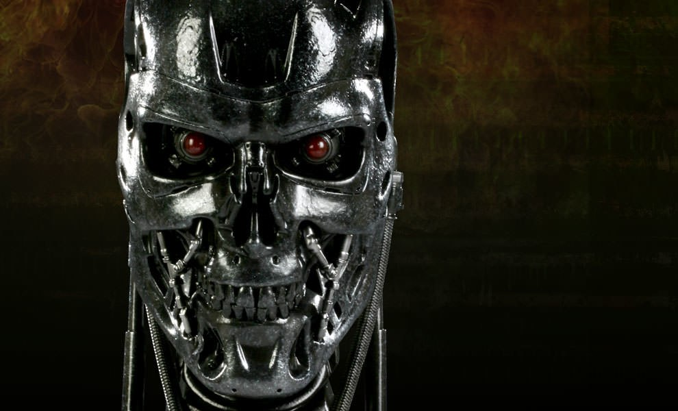 Gallery Feature Image of T-700 Life-Size Bust - Click to open image gallery