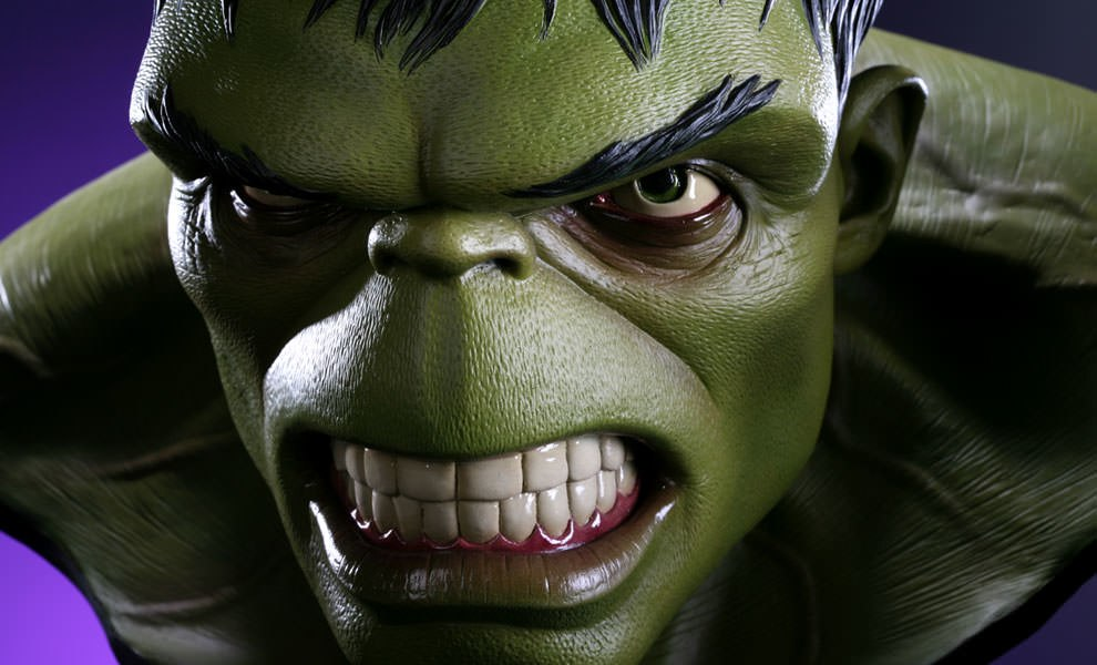 Gallery Feature Image of Hulk Life-Size Bust - Click to open image gallery
