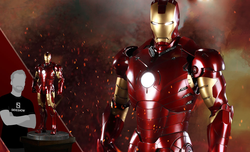 Gallery Feature Image of Iron Man Mark III Legendary Scale™ Figure - Click to open image gallery