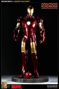 Gallery Image of Iron Man Mark III Legendary Scale™ Figure