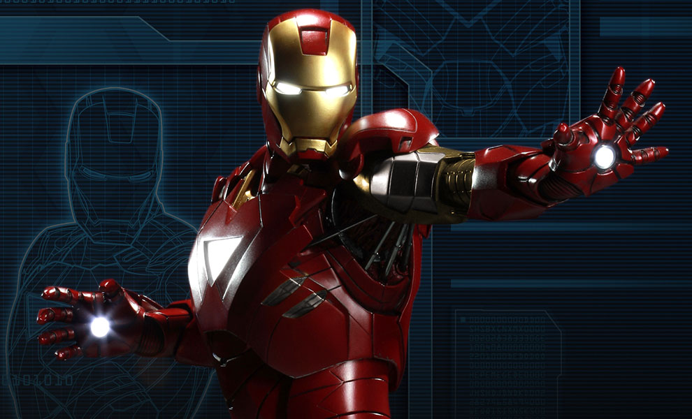 Gallery Feature Image of Iron Man Mark VI Maquette - Click to open image gallery
