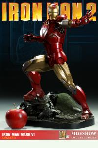 Gallery Image of Iron Man Mark VI Maquette