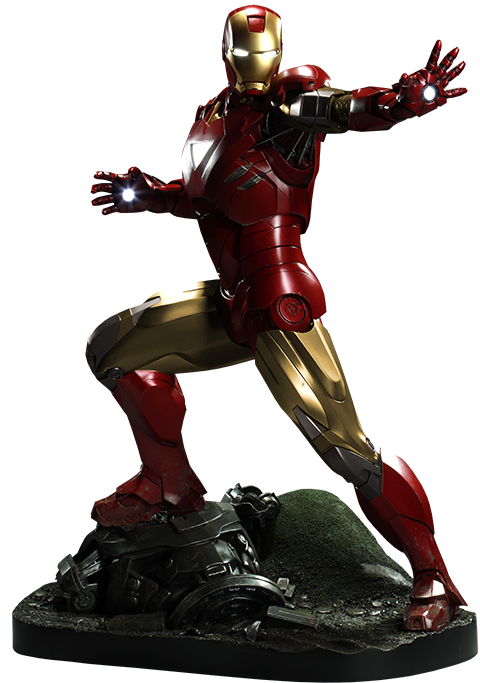 Sideshow Collectibles Iron Man Mark VI Maquette