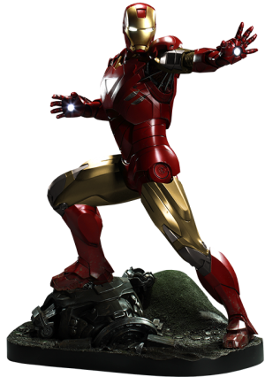 Iron Man Mark VI Maquette